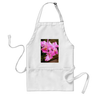 Pretty in Pink Orchids Adult Apron