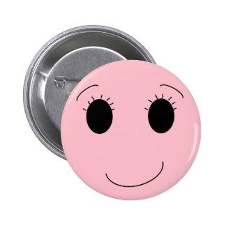 Pretty in Pink Pinback Button