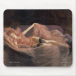 """""""PRETTY IN PINK""""  Pinup girl mouse pad"""