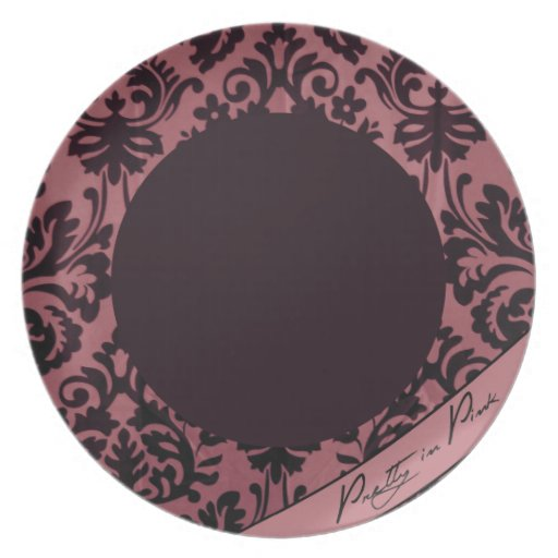 Pretty in Pink Plate