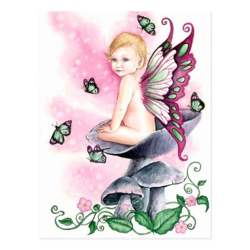 Pretty in Pink Postcard