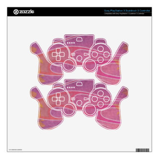 Pretty In Pink PS3 Controller Decal