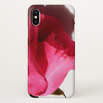 Pretty in Pink Rose Apple iPhone Case