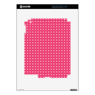 Pretty in pink skin for iPad 2