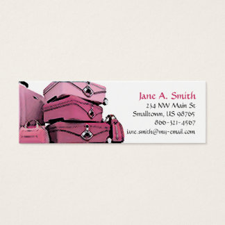 """Pretty in Pink"" Skinny Business Card"
