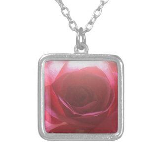 Pretty in Pink Square Pendant Necklace