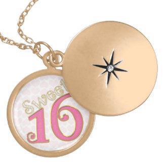 Pretty in Pink Sweet 16 Locket Necklace