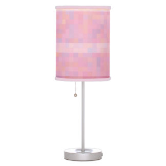 Pretty in pink table lamp