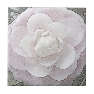Pretty in Pink Small Square Tile