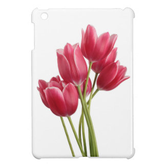 Pretty in Pink Tulips Cover For The iPad Mini