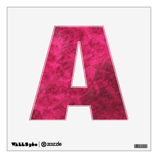 Pretty in Pink Wall Decal