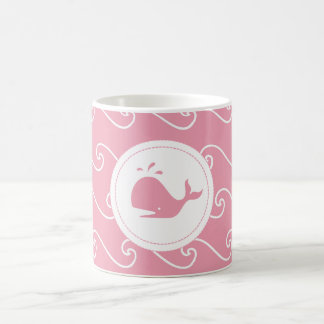Pretty in Pink Whales Tale and Waves Mugs