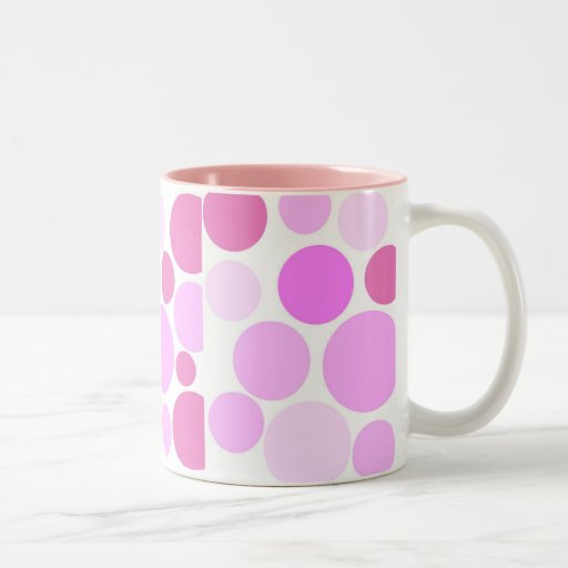 Pretty In Polka Dots Collection Mugs