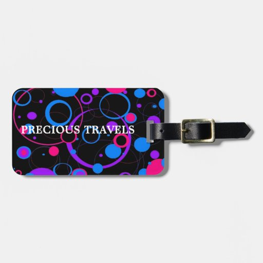 PRETTY IN POLKADOTS COLLECTION TAG FOR LUGGAGE