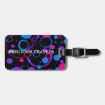 PRETTY IN POLKADOTS COLLECTION LUGGAGE TAG