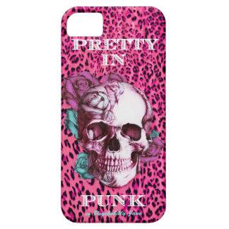 Pretty in Punk leopard I Phone Case. xo PJ iPhone SE/5/5s Case