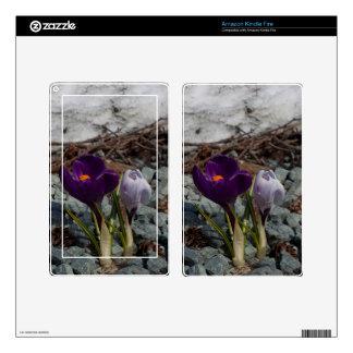 Pretty in Purple Kindle Fire Decal
