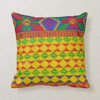 Pretty Indian Kutch Work Throw Pillows Pillow