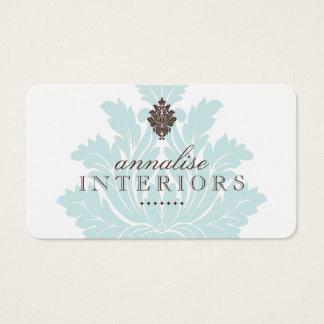 Pretty Interior Designer Business Cards