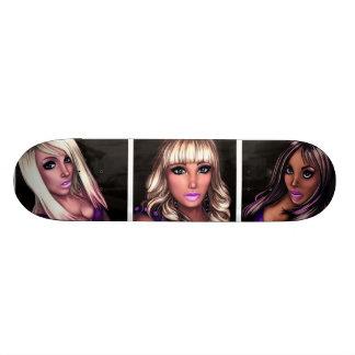 Pretty Internet Girls Custom Skate Board