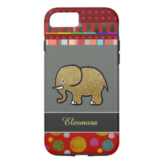 pretty iPhone 7 with elephant personalized iPhone 7 Case