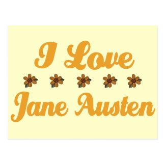 Pretty Jane Austen Lover Postcard
