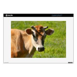 Pretty Jersey Cow Stare Laptop Skin