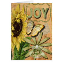Pretty Joy Collage, Get Well Soon Card