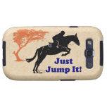 Pretty Just Jump It Equestrian Samsung Galaxy S3 Cover