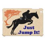 Pretty Just Jump It Equestrian iPad Mini Case For The iPad Mini