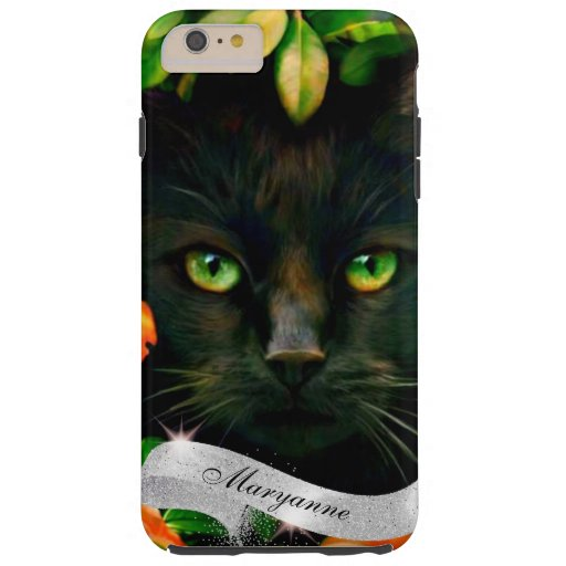 Pretty Kitten on the Phone Tough iPhone 6 Plus Case