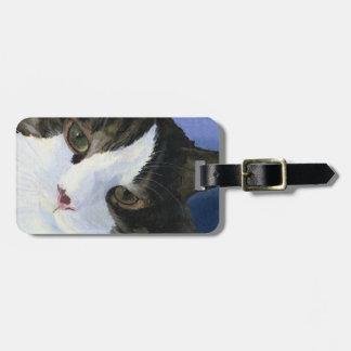 Pretty Kitty Bag Tag