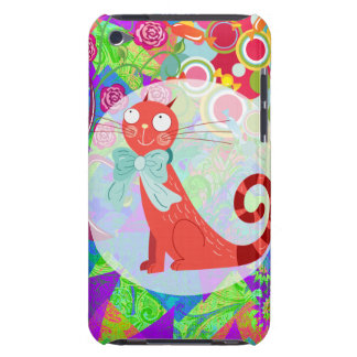Pretty Kitty Crazy Cat Lady Gifts Vibrant Colorful iPod Touch Covers