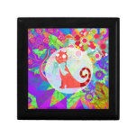 Pretty Kitty Crazy Cat Lady Gifts Vibrant Colorful Trinket Boxes