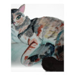 pretty kitty custom letterhead