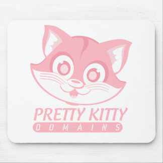Pretty Kitty Domains Mouse Pad