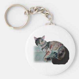 pretty kitty keychains