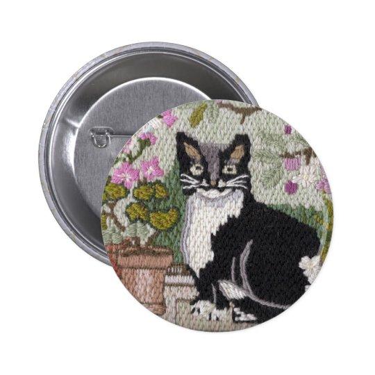 Pretty Kitty Pinback Button