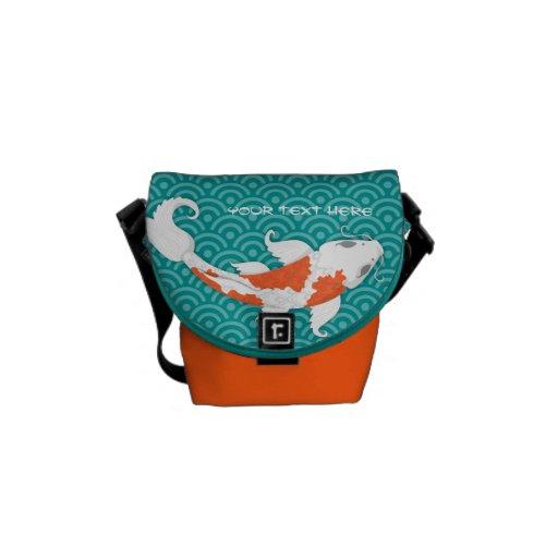 Pretty Koi Commuter Bags