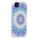 Pretty lace abstract pattern iPhone covers iPhone 4 Covers