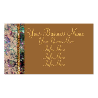 Pretty Lace Roses Business Card