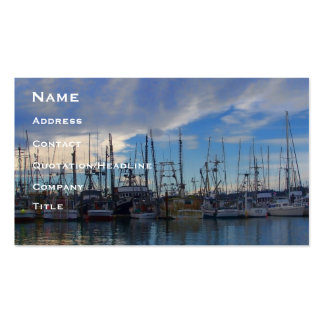 Pretty Ladies In A Row Business Card Template