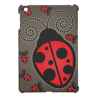 Pretty Ladybug iPad Mini Case