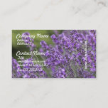 Pretty Lavender Fields Business Cards
