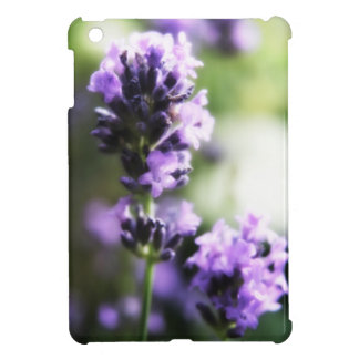 Pretty lavender flowers floral cover for the iPad mini