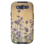 Pretty Lavender Flowers Galaxy S3 Covers