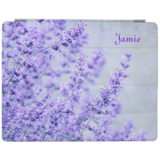 Pretty Lavender Flowers iPad Cover