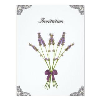 Pretty Lavender Lace Wedding Invitations