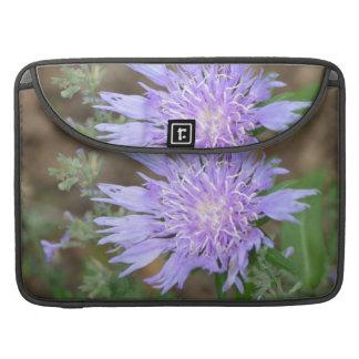 Pretty Lavender Scabiosa Sleeves For MacBooks