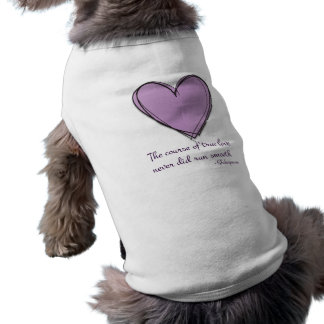 Pretty Lavender The Course of True Love T-Shirt